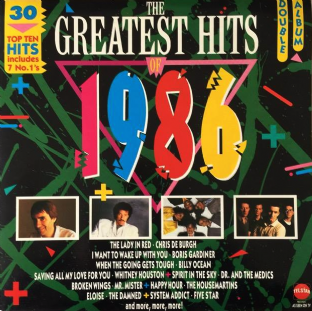 V/A - The Greatest Hits Of 1986 (LP) (EX-/VG+)